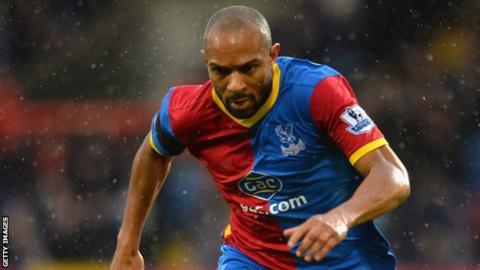 Crystal Palace defender Danny Gabbidon