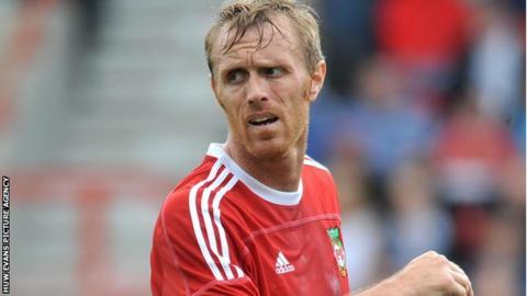 Wrexham striker Brett Ormerod