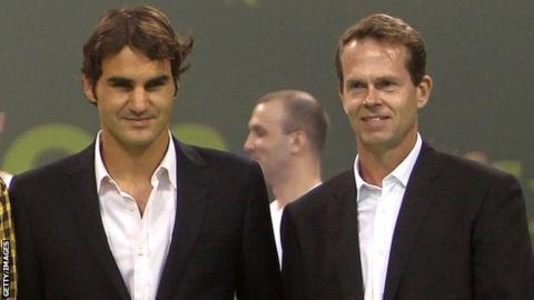 Roger Federer & Stefan Edberg