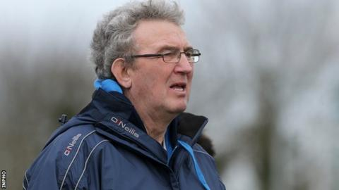 UUJ manager Adrian McGuckian