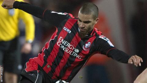 Lewis Grabban scores as Bournemouth draw with Watford