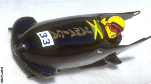 Jamaican bobsleigh team