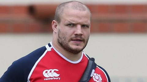 Worcester and Scotland prop Euan Murray