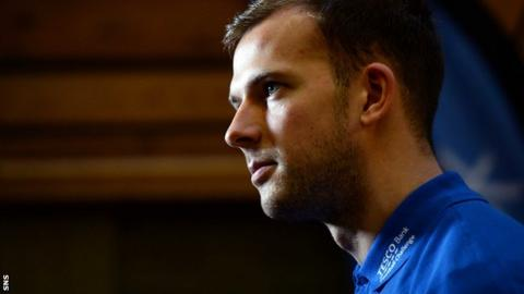 Blackburn and Scotland striker Jordan Rhodes