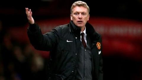 Man Utd boss David Moyes
