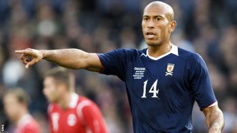 Chris Iwelumo played four times for Scotland