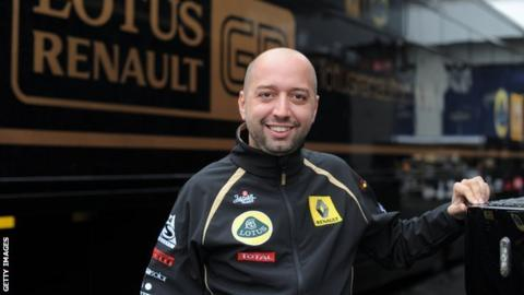 Lotus co-chairman and new team principal Gerard Lopez