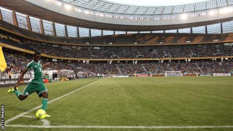 The Cape Town stadium