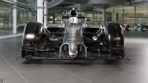 McLaren's 2014 car