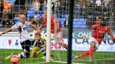 Cardiff beat Bolton