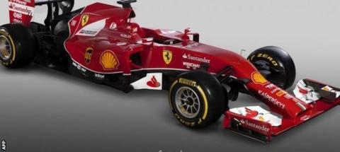 Ferrari's 2014 car