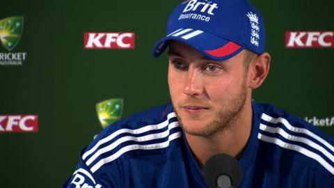 England T20 captain Stuart Broad