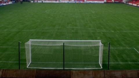 Dunfermline Athletic's artificial pitch at East End Park