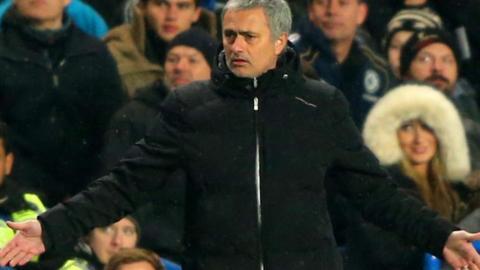 Chelsea manager Jose Mourinho