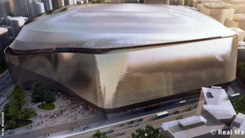Bernabeu stadium new design