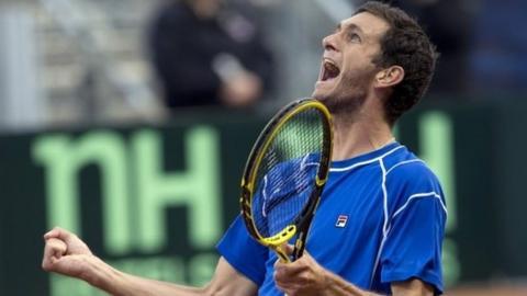 James Ward wins dramatic Davis Cup tie