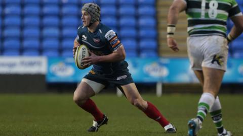 Jonathan Davies made his return to rugby after more than two months out with a pectoral muscle injury in the Scarlets' LV= Cup match against London Irish