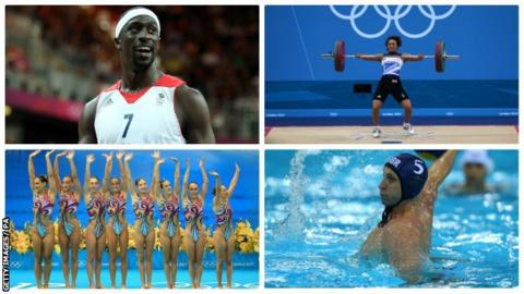 Four sports lose Olympic funding