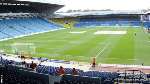 Elland Road, home of Leeds United