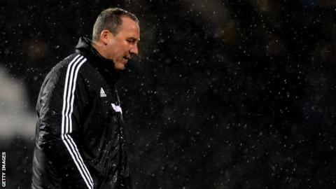 Fulham boss Rene Meulensteen after the FA Cup defeat by Sheffield United