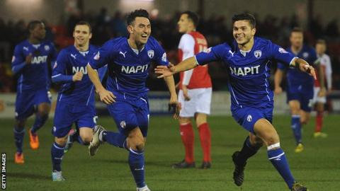 Chesterfield celebrate
