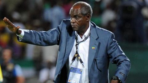 Former Ethiopia coach Sewnet Bishaw