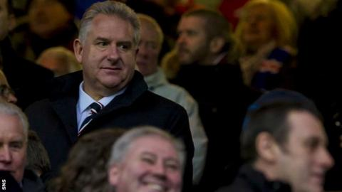 Rangers chief executive Graham Fraser