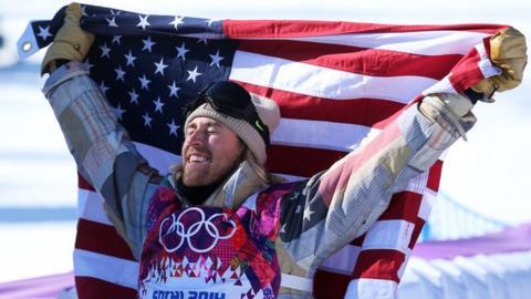 United States snowboarder Sage Kotsenburg