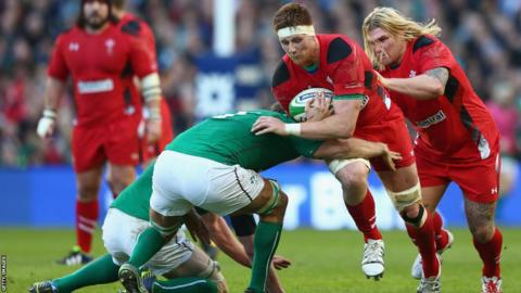 Andrew Coombs leads this Wales charge with Richard Hibbard in close support