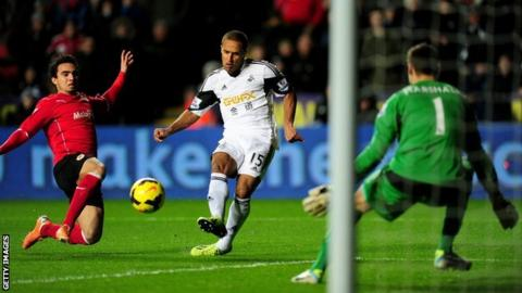 Wayne Routledge for Swansea