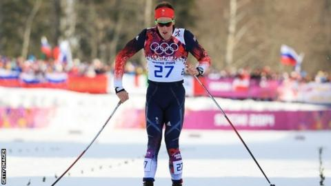 British cross country skier Andrew Musgrave