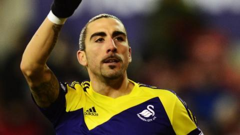 Swansea's Chico Flores