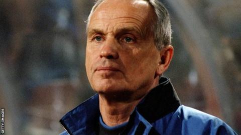 Former Denmark coach Richard Moller Nielsen