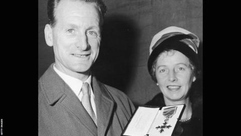 Tom Finney and wife Elsie
