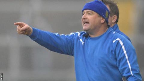 Ballinderry manager Martin McKinless