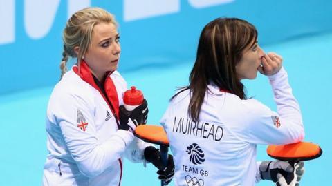 Anna Sloan and Eve Muirhead