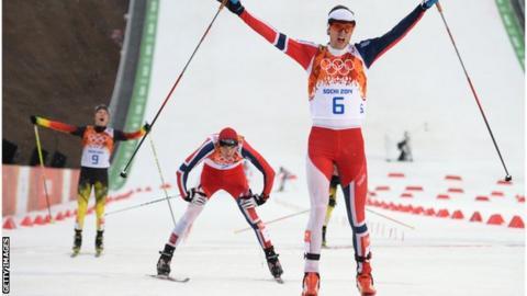 Jorgen Graabak ski sochi