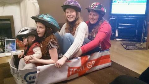 Team GB's new four women bobsleigh team