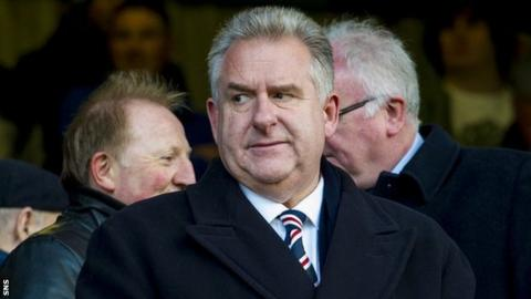 Rangers chief executive Graham Wallace