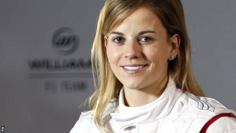 Williams development driver Susie Wolff