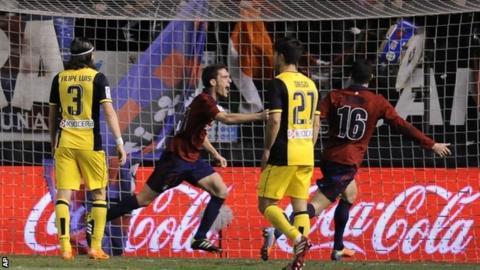 Osasuna celebrate