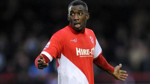 Kidderminster Harriers striker Amari Morgan-Smith