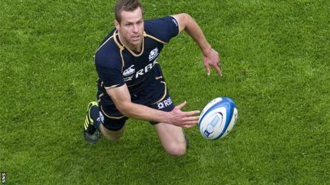Scotland's record points-scorer Chris Paterson