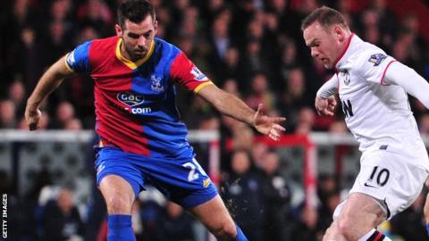Crystal Palace and Wales midfielder Joe Ledley