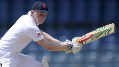 Sam Robson playing for England Lions