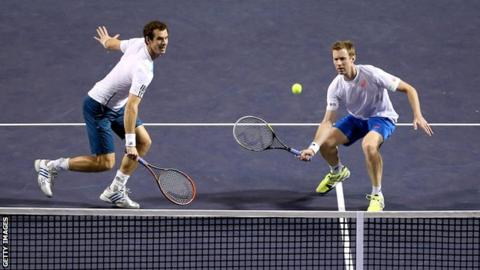Andy Murray & Jonny Marray