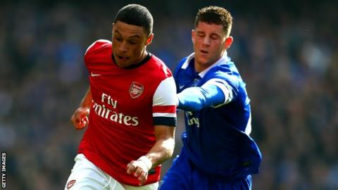 Alex Oxlade-Chamberlain and Ross Barkley