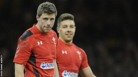 Rhys Priestland and Rhys Webb