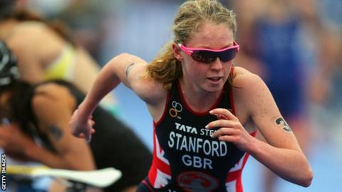 Non Stanford on her way to winning the world title in 2013