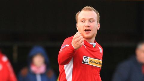 Cliftonville's Liam Boyce